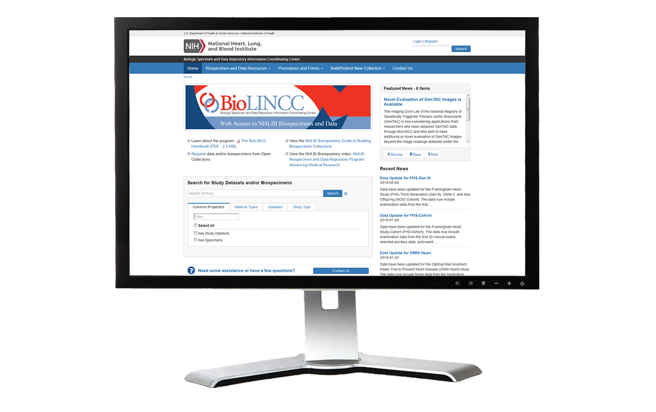 BiolinCC Website | BSI Systems