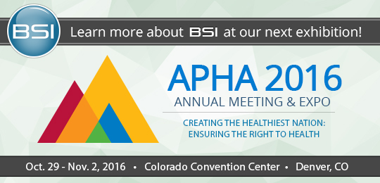Apha Expo 2016 | BSI Systems