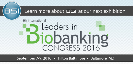 Biobanking Expo | BSI Systems